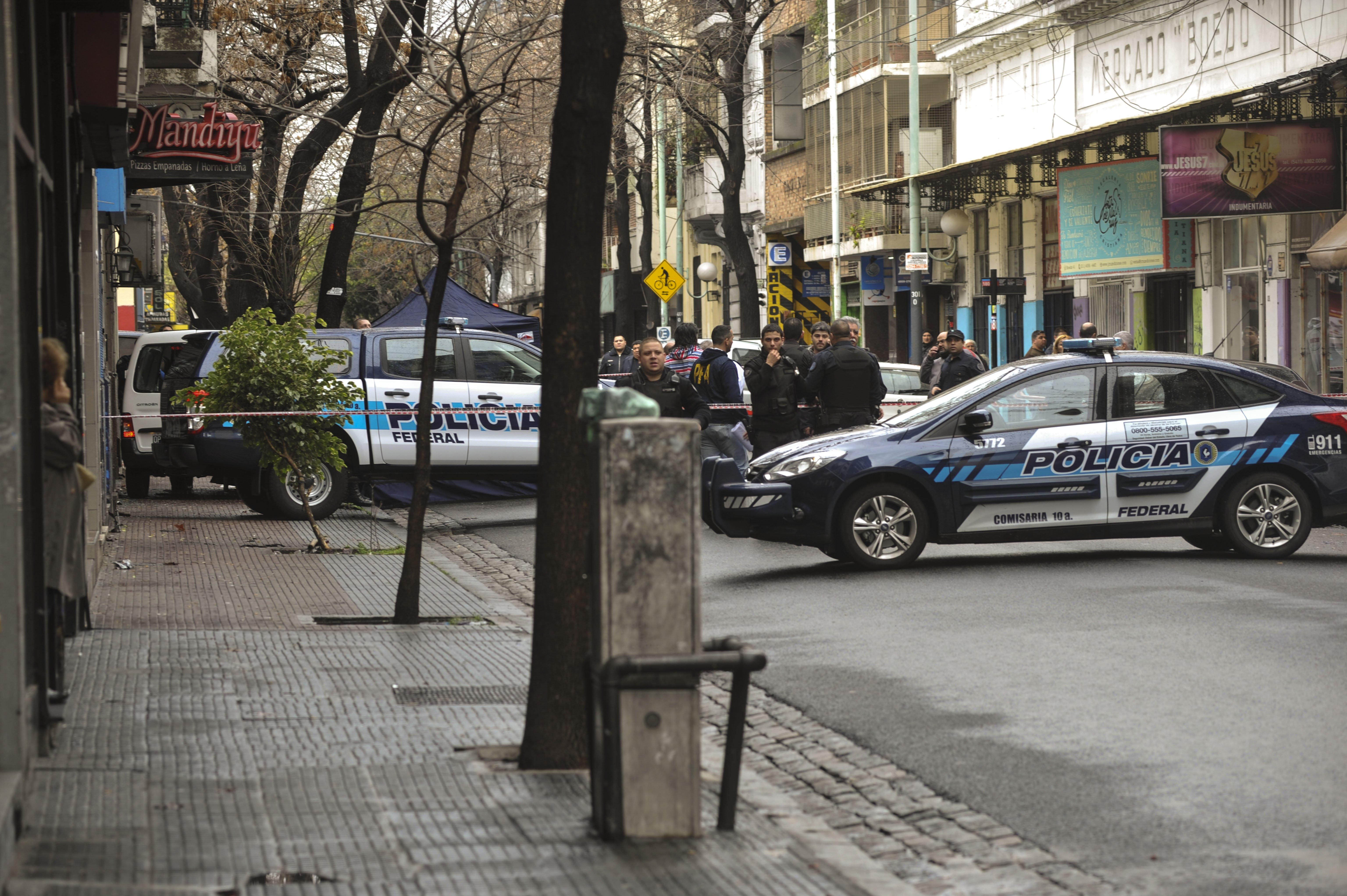 Los patrulleros se congregaron en el lugar.