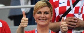 ¿Es o no es? Las supuestas fotos de la presidenta de Croacia luciendo sus curvas en la playa