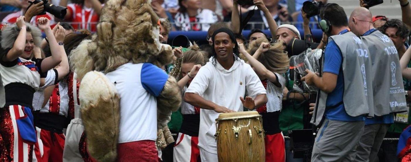 El cierre pop de Rusia 2018 con Nicky Jam, Will Smith y Ronaldinho con tambores