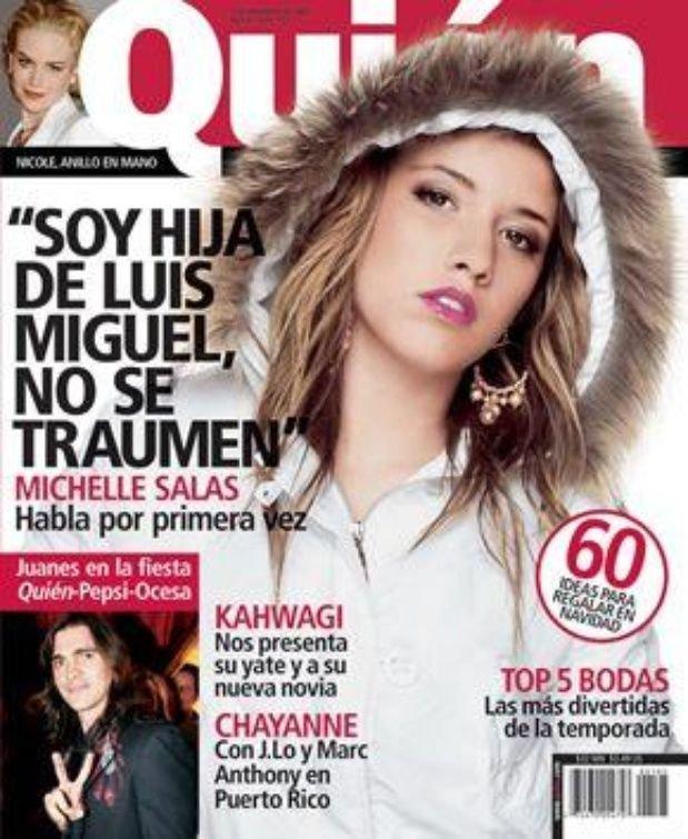 La portada con la que Michelle logró acercarse a Luis Miguel.