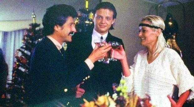 Una de las últimas fotos familiares de Luis Miguel antes de la separación de sus padres.
