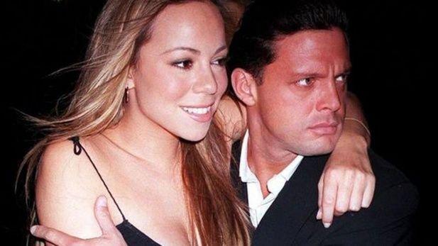 La relación con Sergio se rompió cuando Luis Miguel salía con Mariah Carey.