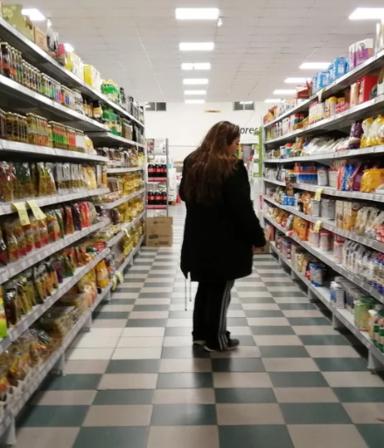 No levanta: ventas en supermercados y shoppings suman 11 meses con tendencia a la baja