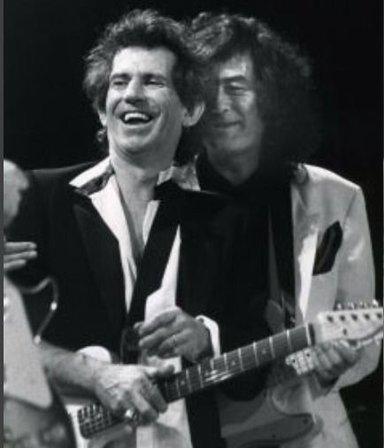 """Temazo: los Rolling Stones subieron """"Scarlet"""", un tema inédito grabado junto a Jimmy Page"""