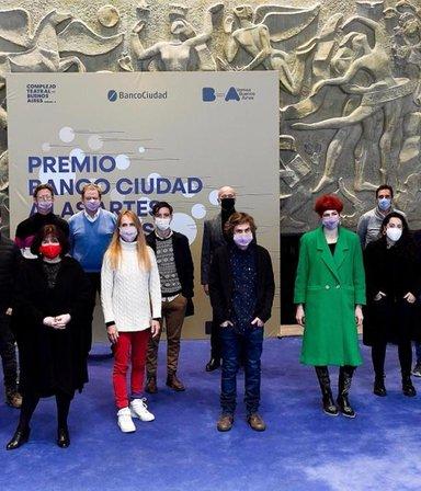 Cuáles son los diez primeros proyectos ganadores del premio Banco Ciudad a las artes escénicas