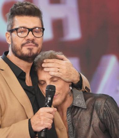 """Las lágrimas de El Polaco al homenajear a su papá: """"Quise recordarlo con una canción"""""""