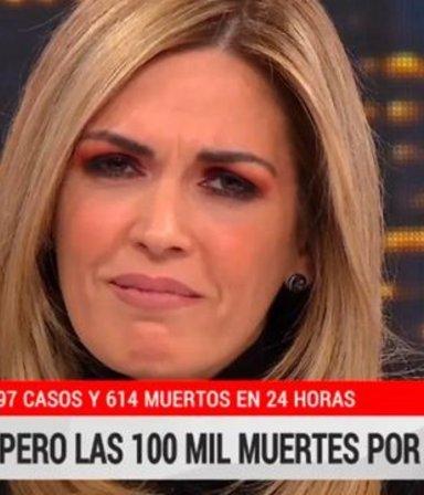 Lágrimas de cococanosa: de decir que los médicos inventaban muertos a su llanto desconsolado por los 100 mil