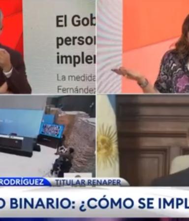 """""""¿Puede decir perro?"""": Lorena Maciel y su reacción ante el nuevo DNI no binario"""