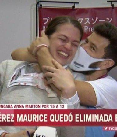"""""""¿Te querés casar conmigo?"""": la propuesta que recibió una esgrimista tras perder en Tokio"""