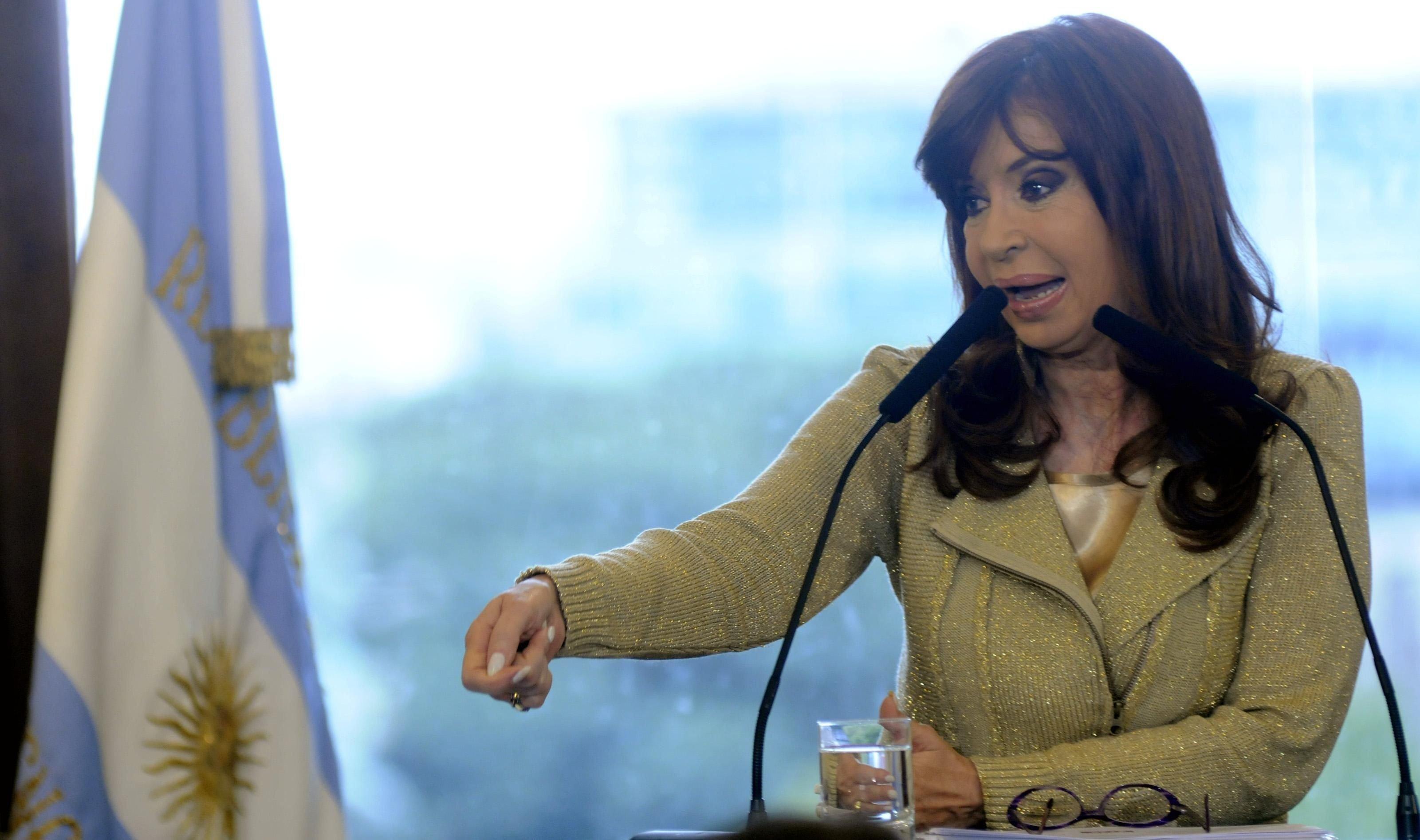 La Presidenta habló sobre la desocupación.