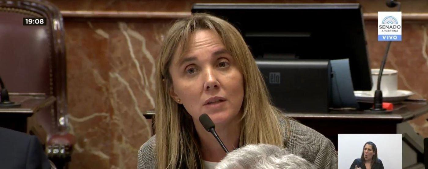 Hasta las lágrimas: la emotiva defensa del proyecto de legalización del aborto de Gladys González