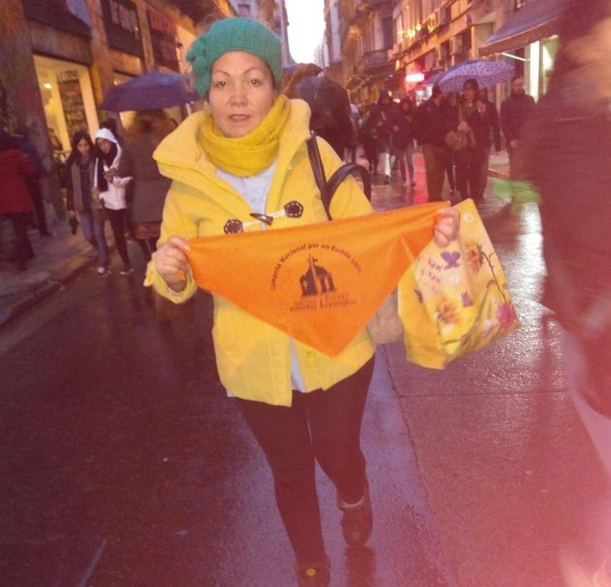 Por qué se coló el pañuelo naranja en el reclamo por la legalización del aborto