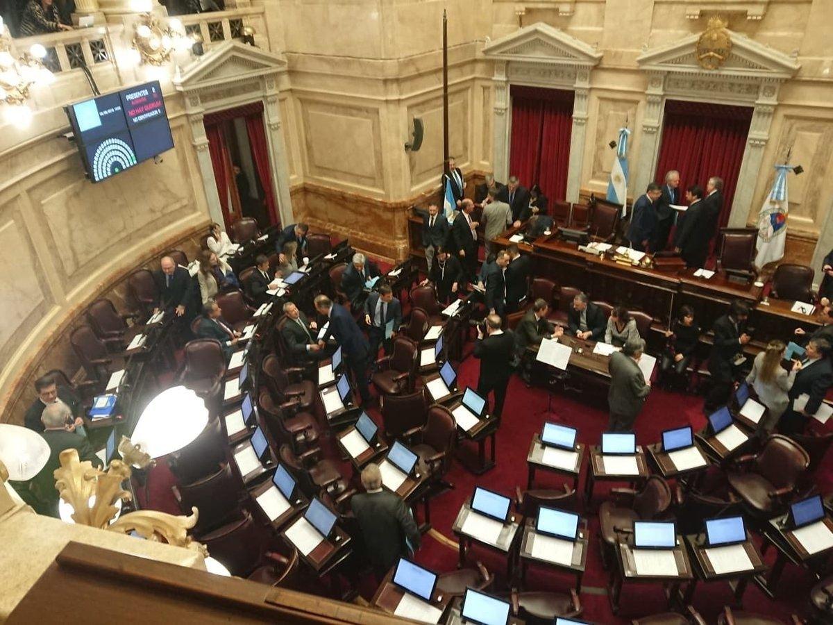 El Senado rechazó el proyecto de ley de legalización del aborto.