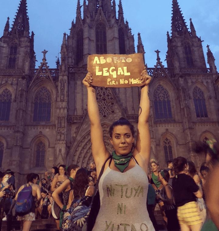 De Montevideo a Nueva York: pañuelazos verdes en todo el mundo pese al rechazo a la ley