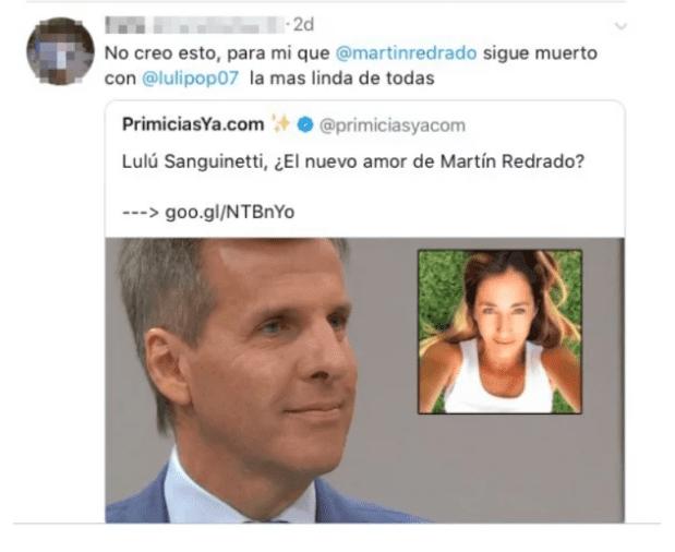 El drama de Luciana Salazar: dice que Martín Redrado le pone