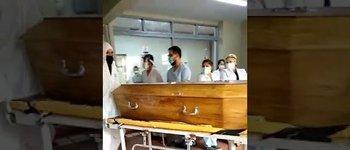 La emotiva despedida y el dolor por la muerte de Cristina, la enfermera de 62 años que murió por coronavirus