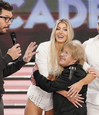 El desopilante video de Alicia, la abuela de Cande Ruggeri: imitó (y castigó) a todos en La Academia