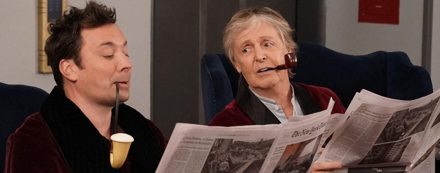 Imperdible: Paul McCartney sorprende a los turistas en un ascensor del Rockefeller Center