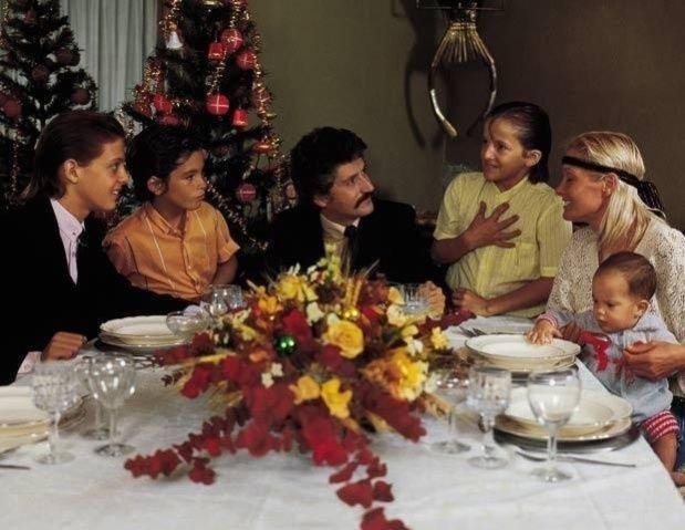 Una de las últimas postales de la familia de Luis Miguel antes de la separación.