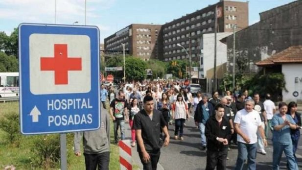 Trabajadores Hospital Posadas