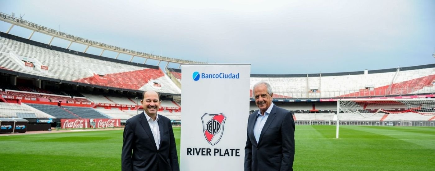 El Banco Ciudad se convirtió en el principal sponsor digital de River Plate