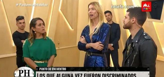 El cruce entre Malena Guinzburg y Nicole Neumann fue en el ciclo 'Podemos hablar'.