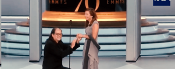 Emmys 2018: el momento en el que Glen Weiss le pidió matrimonio a su pareja en vivo