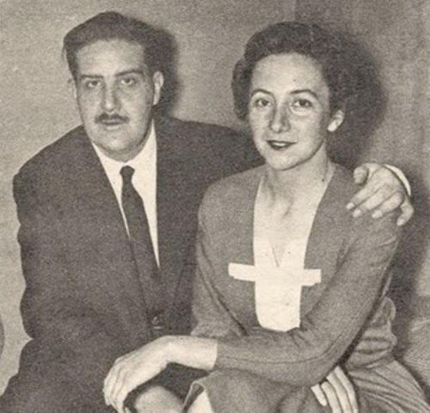 John William Cooke y Alicia Eguren