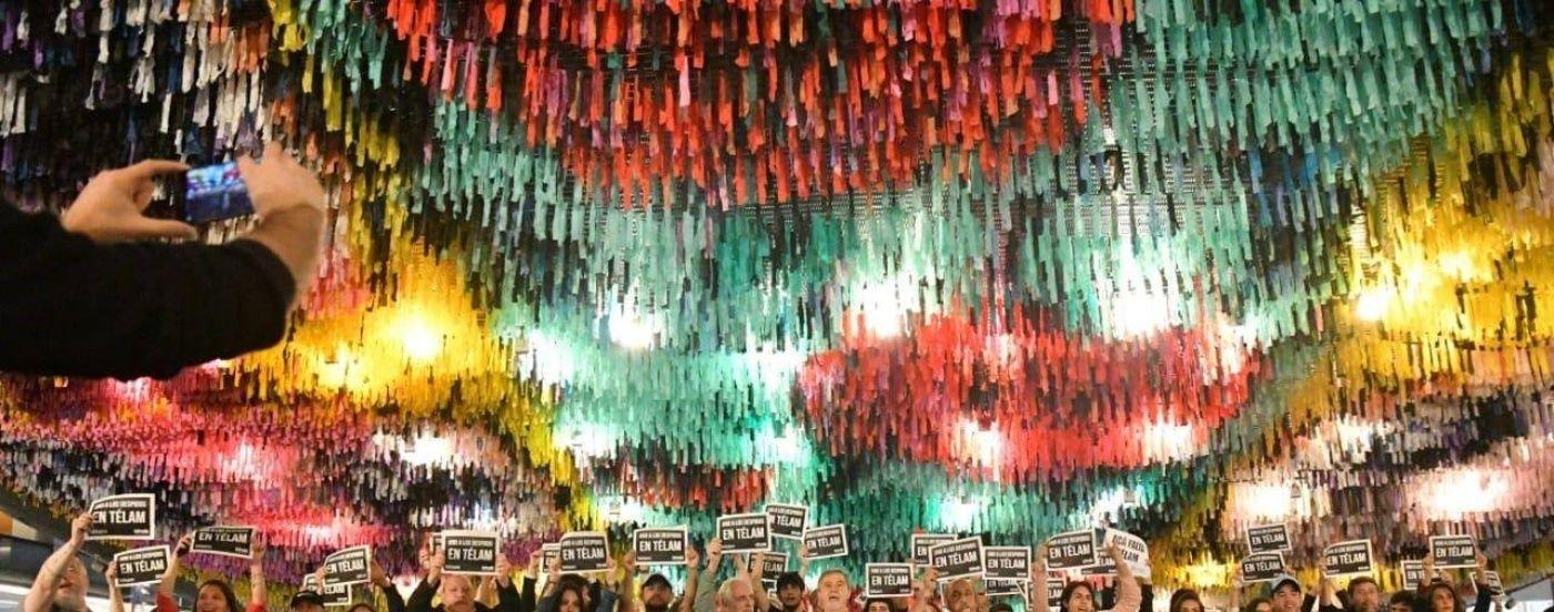 Trabajadores de Télam tomaron pacíficamente el CCK, donde tiene sus oficinas Hernán Lombardi