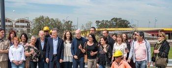 Macri, Vidal, Rodríguez Larreta y Grindetti inaguraron un nuevo puente sobre el Riachuelo