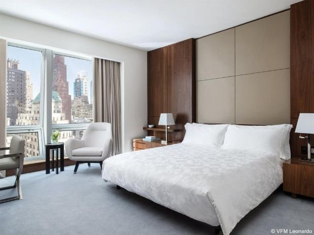 La suite en la que se hospeda el matrimonio presidencial cuesta 32.956 pesos la noche.