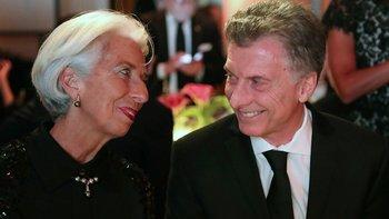 """Macri, en la otra punta del mundo: """"Espero que todo el país termine enamorado de Lagarde"""""""