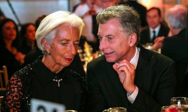 La foto que más quería el Gobierno: Macri y Lagarde.