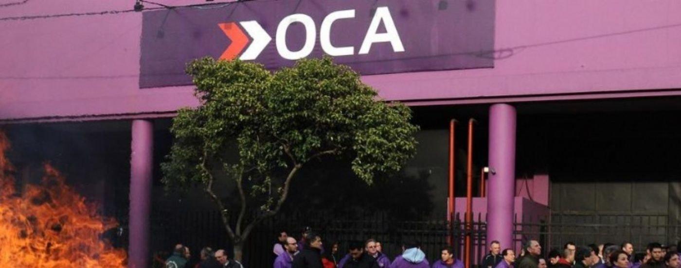 La Justicia ordenó la intervención de OCA, el correo privado más grande del país