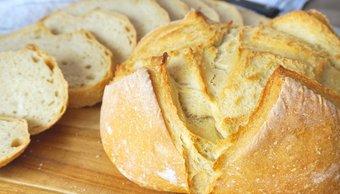 Receta súper fácil para preparar pan sin harina, en menos de quince minutos