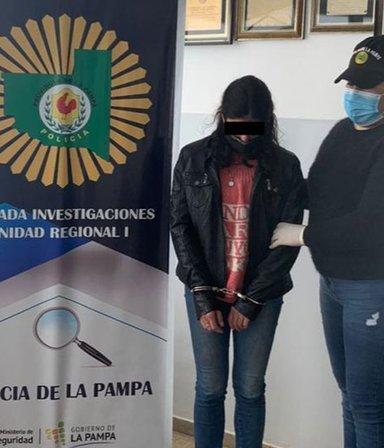 La Pampa: detuvieron a la mujer que envenenó y casi mata a su esposo policía