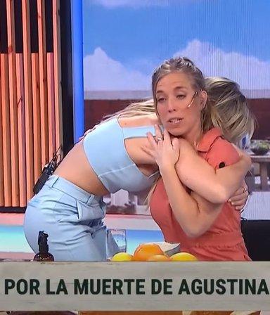 """El dolor y las lágrimas de Chantal Abad tras la muerte de Agustina Posse: """"Fue una persona hermosa"""""""