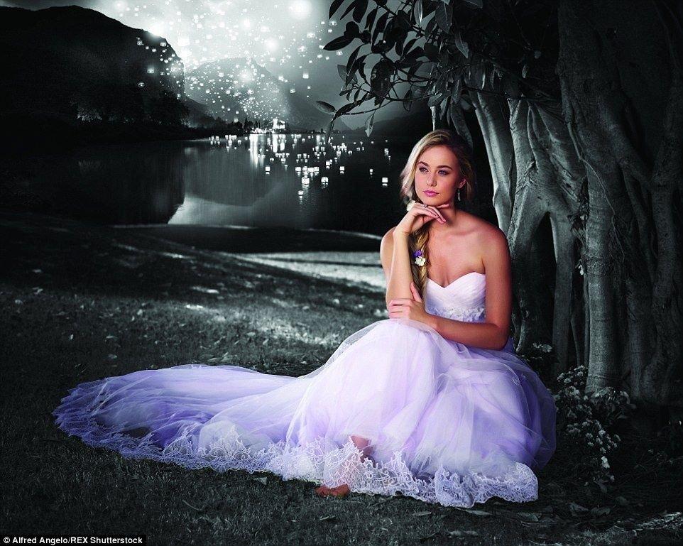 Otra Rapunzel, soñadora.
