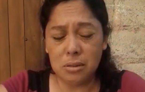 La mamá del violador lo entregó y le pidió disculpas a la familia de la víctima.