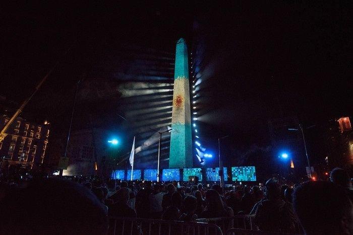 Las 35 fotos de la apertura de los Juegos Olímpicos de la Juventud