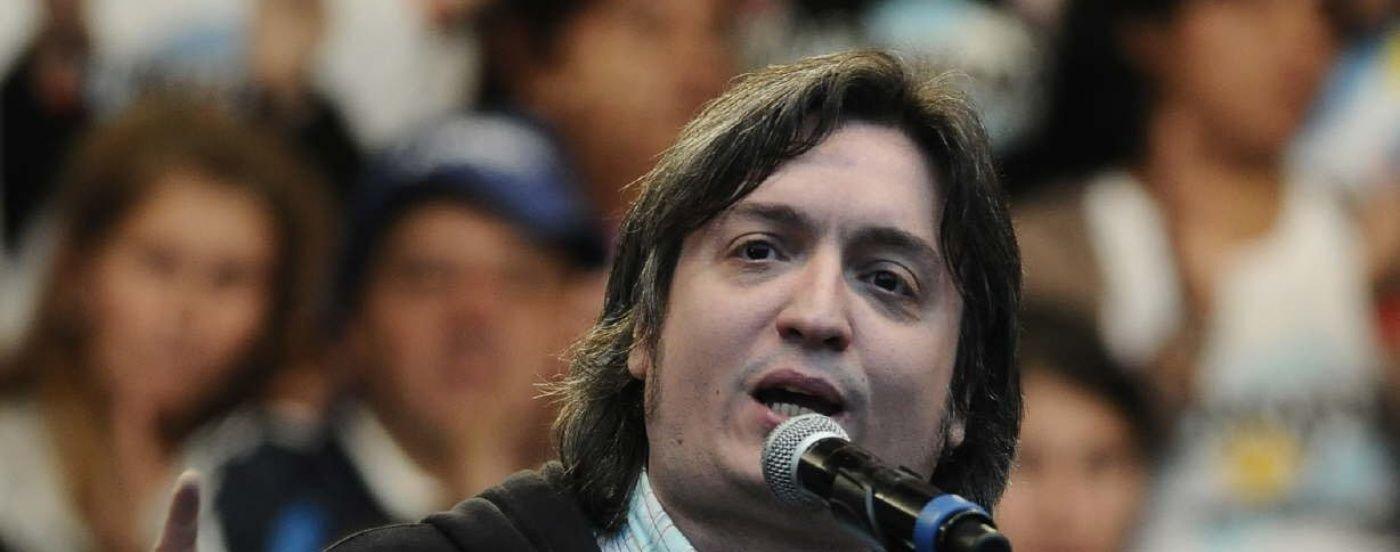 El juez Bonadio citó a declarar a Máximo Kirchner en la causa de los cuadernos de las coimas