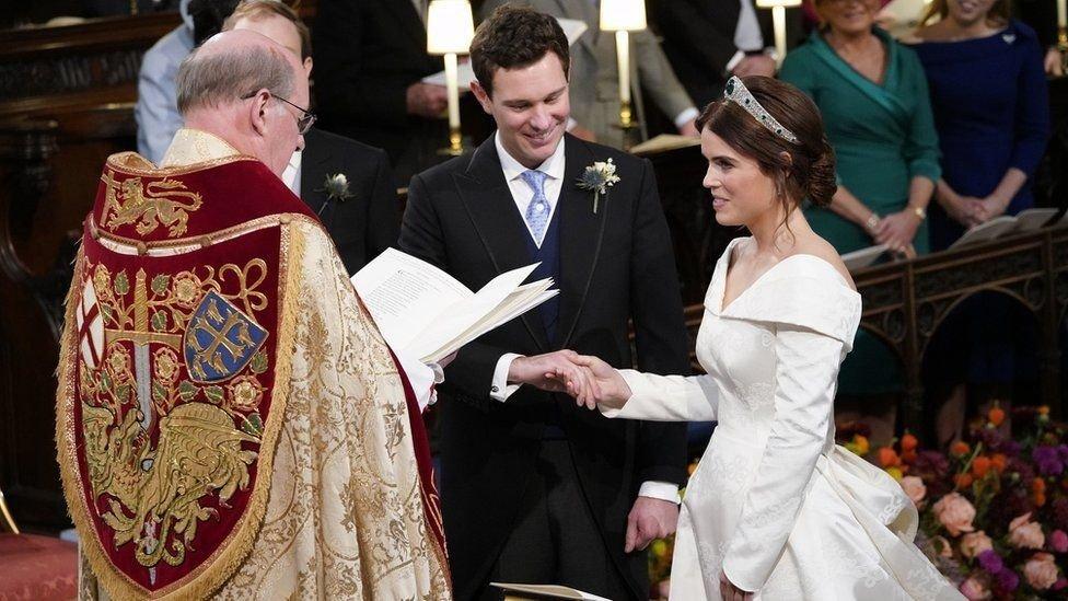Eugenie de York dio el sí.
