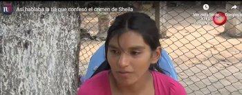 """[VIDEO] """"Presiento que está bien y que está viva"""": el cinismo de la tía de Sheila un día antes de confesar el crimen"""