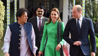 Kate Middleton y el tremendo desaire público que sufrió por parte de un soldado en plena gira por Pakistán