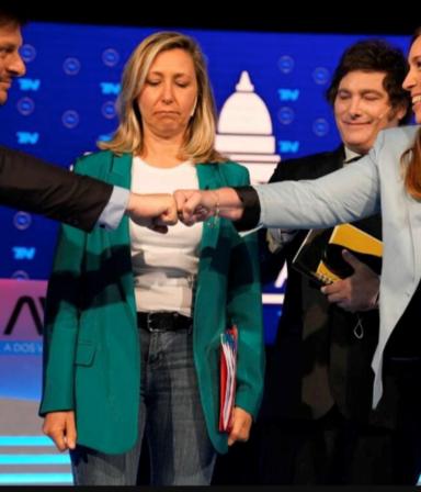 Nervios, quejas y cruces: todo lo que no se vio en TV sobre el debate entre los candidatos porteños
