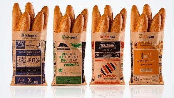 Infopan: las empresa eco que redefinió las tradicionales bolsas de comprar el pan