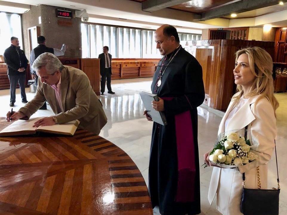 Da tranquilidad a presidente electo de Argentina apoyo de AMLO