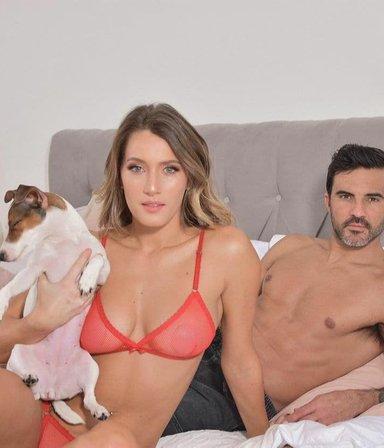 """""""Alarma de sexo"""": Mica Viciconte reveló qué hace su perra cuando ella tiene relaciones con Cubero"""