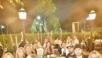 ¿Reconciliación? Nicole y Facundo Moyano estuvieron juntos en el exclusivo festejo de cumpleaños de la modelo