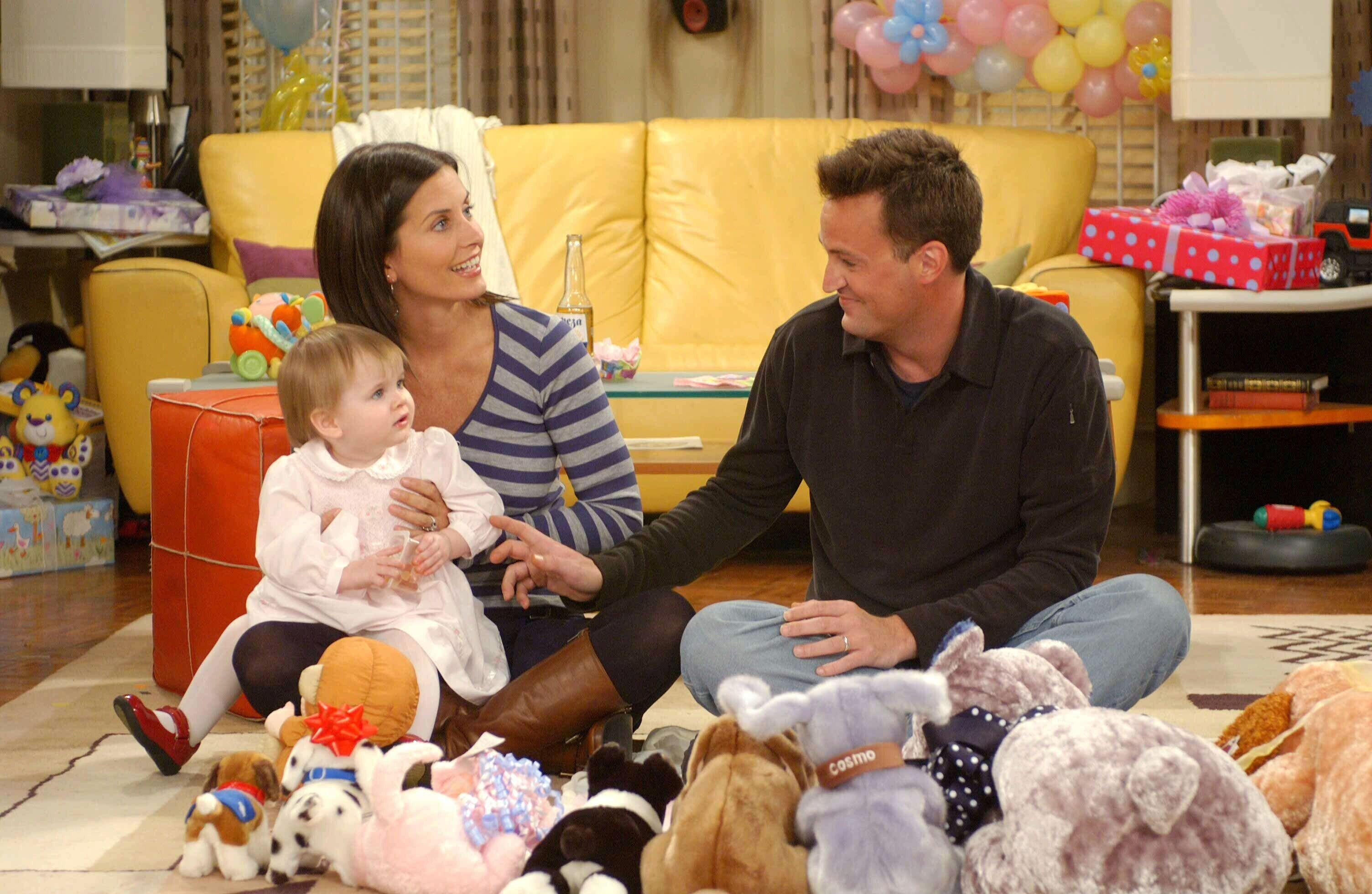 ¿Friends en la vida real? Monica y Chandler estarían juntos